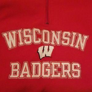 Wisconsin Badgers UW Madison Fleece Pro Edgr L